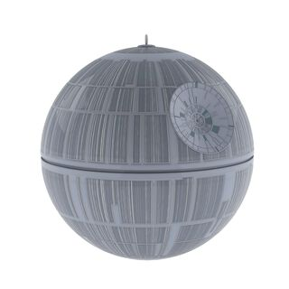 "Star Wars™ Death Star™ Ornament with Sound and Light, 3.9"","