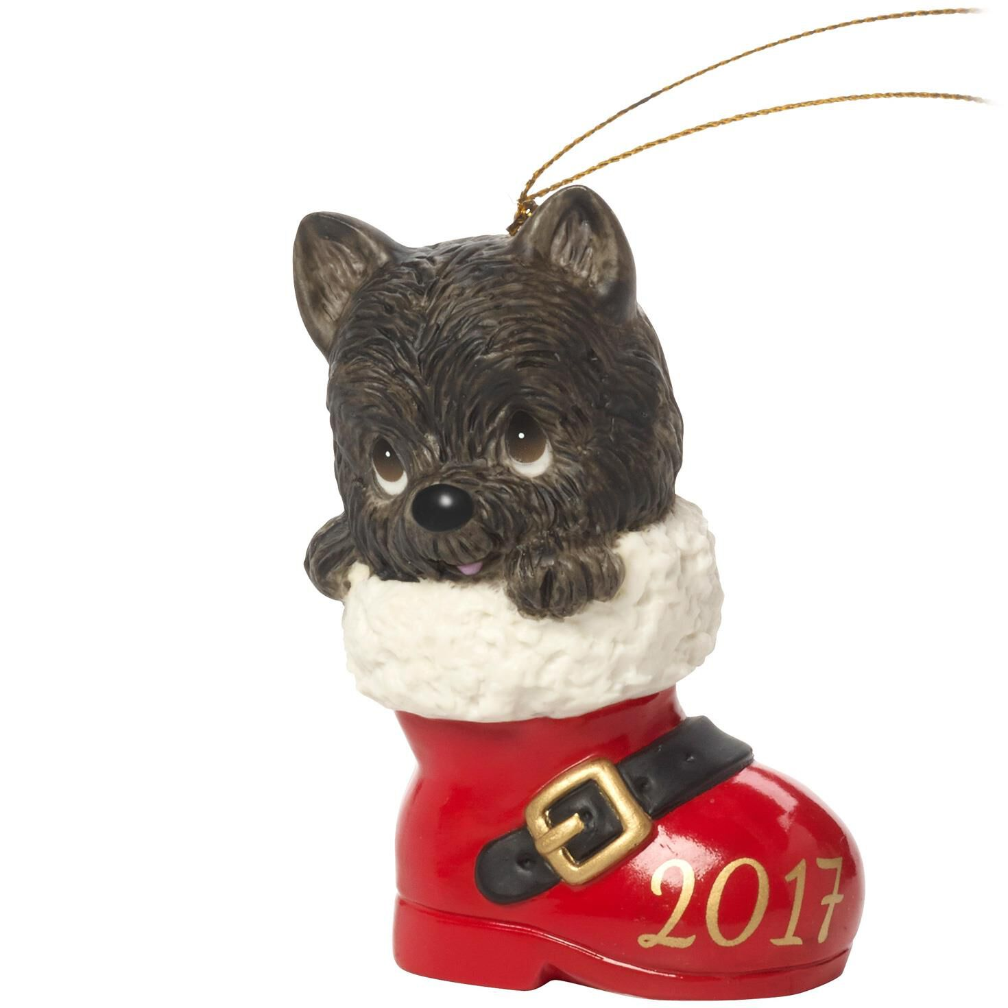 Precious Moments® Christmas Dog In Boot 2017 Ornament - Specialty ...