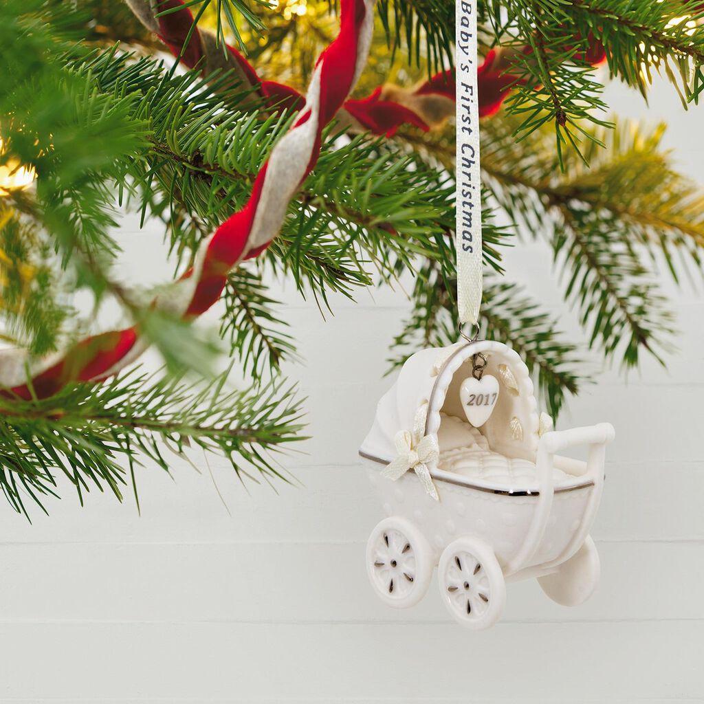 baby s first christmas 2017 ornament hallmark