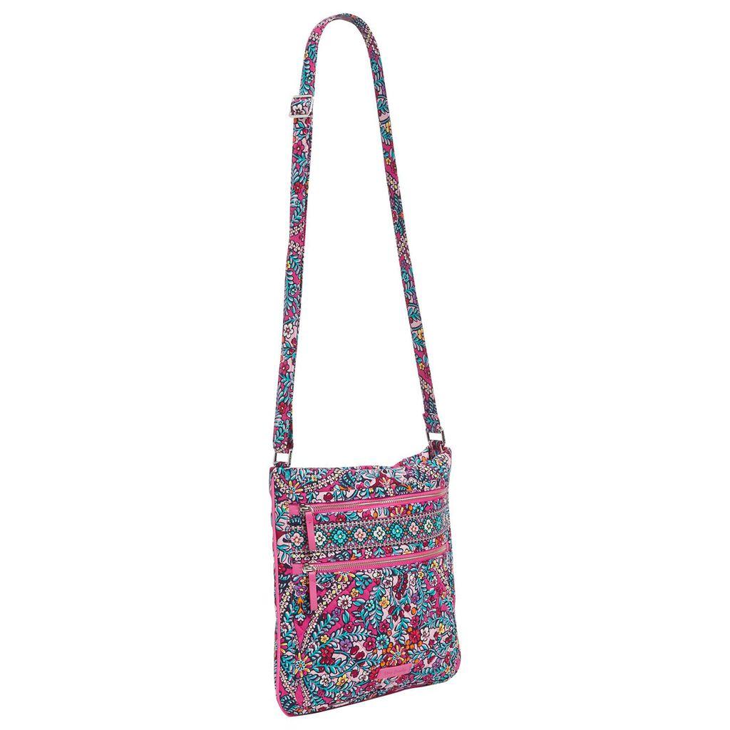 9e83e30c8f Vera Bradley Iconic Triple Zip Hipster in Kaleidoscope - Handbags ...