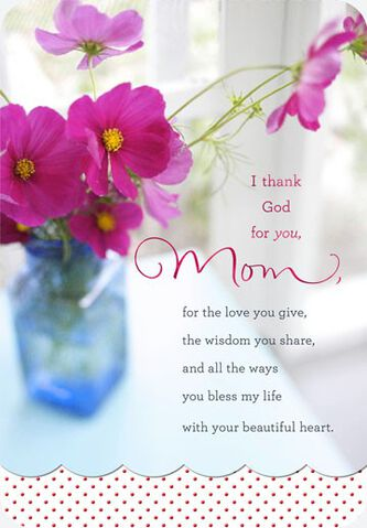 Beautiful heart mom religious birthday card greeting cards hallmark beautiful heart mom religious birthday card bookmarktalkfo Image collections