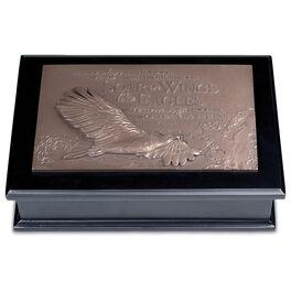 Soar on Wings Like Eagles Lidded Box - Isaiah 40:31, , large