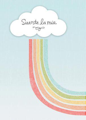 Lucky Me Spanish-Language Love Card