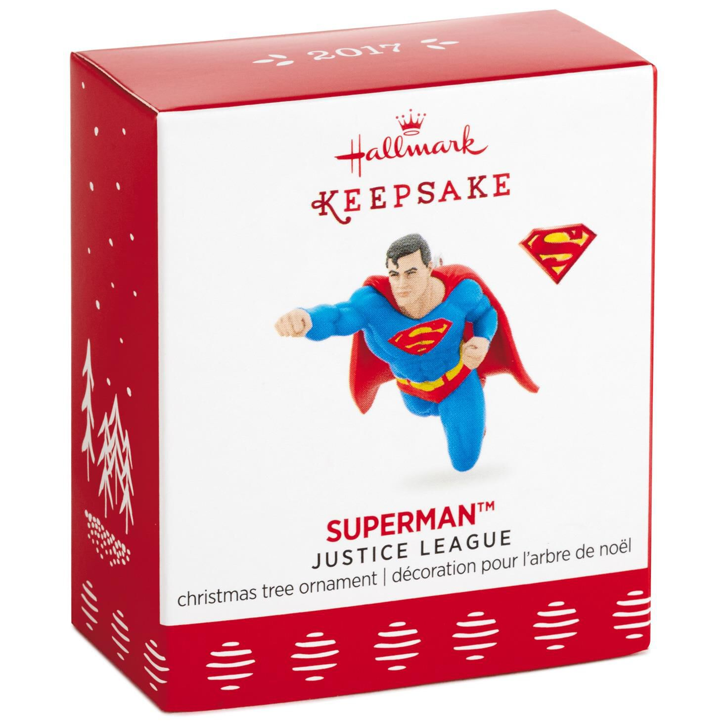 JUSTICE LEAGUE™ SUPERMAN™ Mini Ornament - Keepsake Ornaments ...