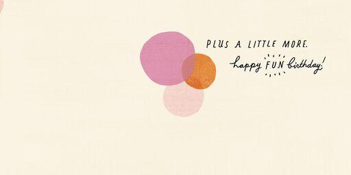 Happy Fun Birthday Card,