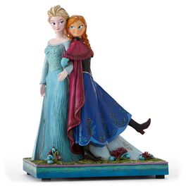 Jim Shore Disney Frozen Sisters Elsa and Princess Anna Musical Figurine, , large
