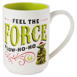 Star Wars™ Holiday Yoda™ Ceramic Mug, , large