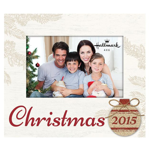christmas 2015 wood malden picture frame 4x6
