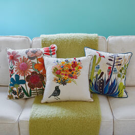 Spring Floral Pillow Collection By Geninne Zlatkis Large