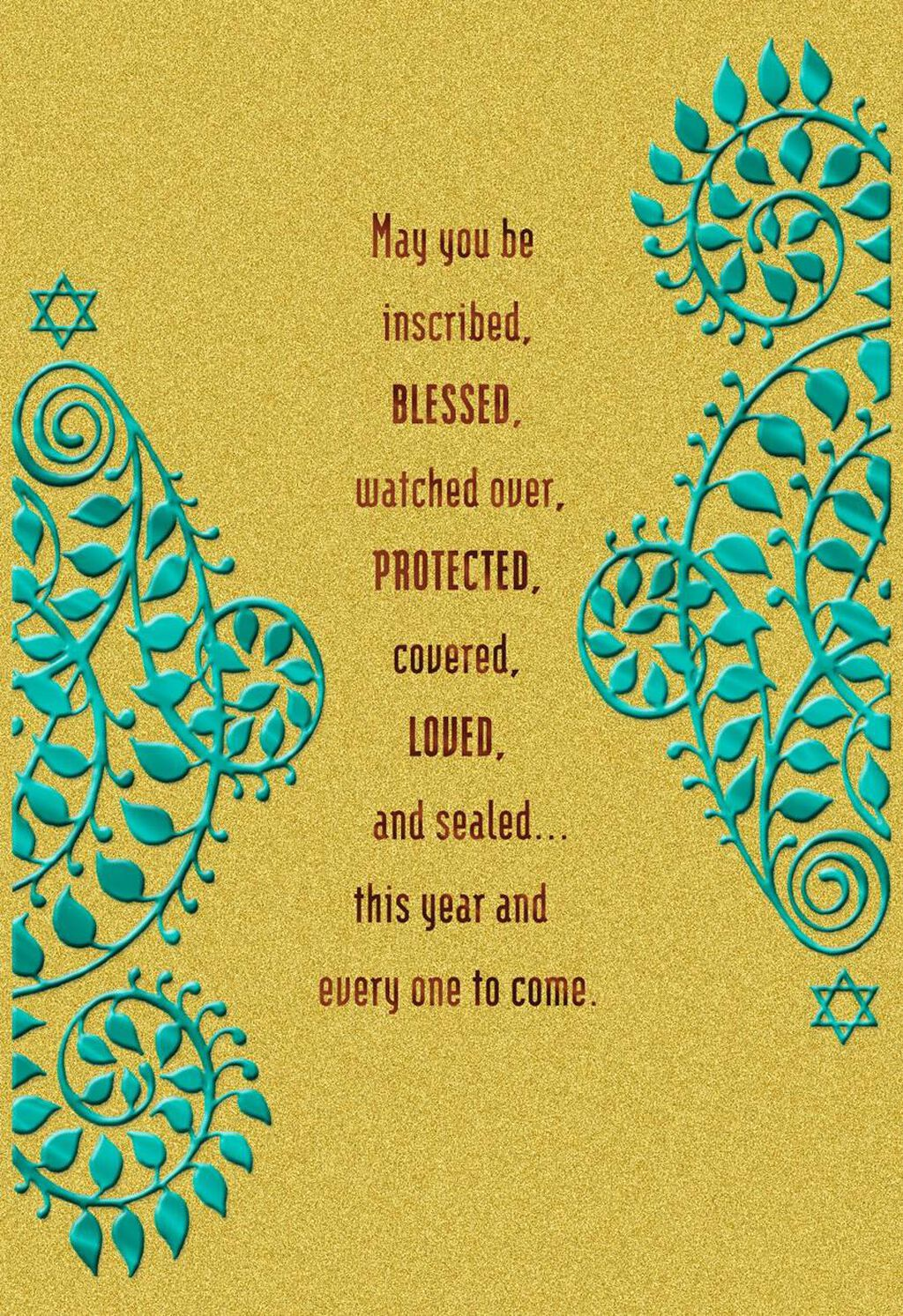 Rosh Hashanah Blessings Card Greeting Cards Hallmark