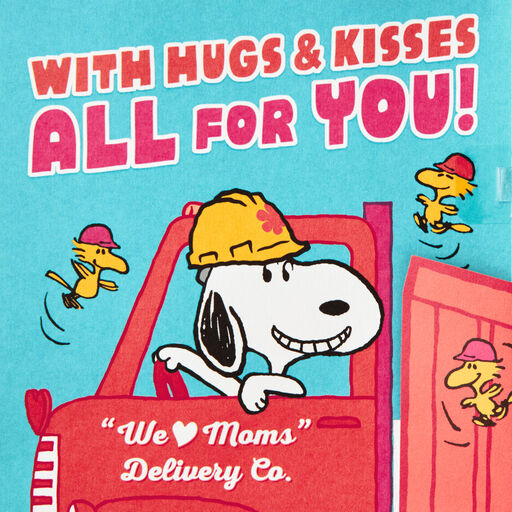 PeanutsR Snoopy Musical Pop Up Mothers Day Card With Motion