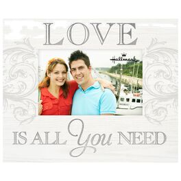 Love is All You Need Wood Photo Frame, 4x6, , large