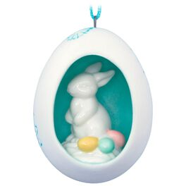 Bunny Discovery Easter Ornament, , large