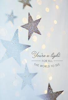 You're a Light Congratulations Card,