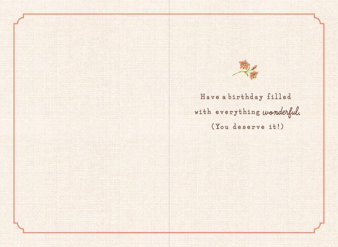 Cupcake Birthday Card for Nana Greeting Cards Hallmark – Nana Birthday Cards