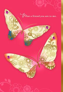 Two Butterflies Birthday Card,