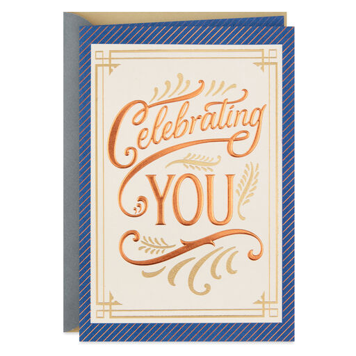 Celebrating You Fathers Day Card
