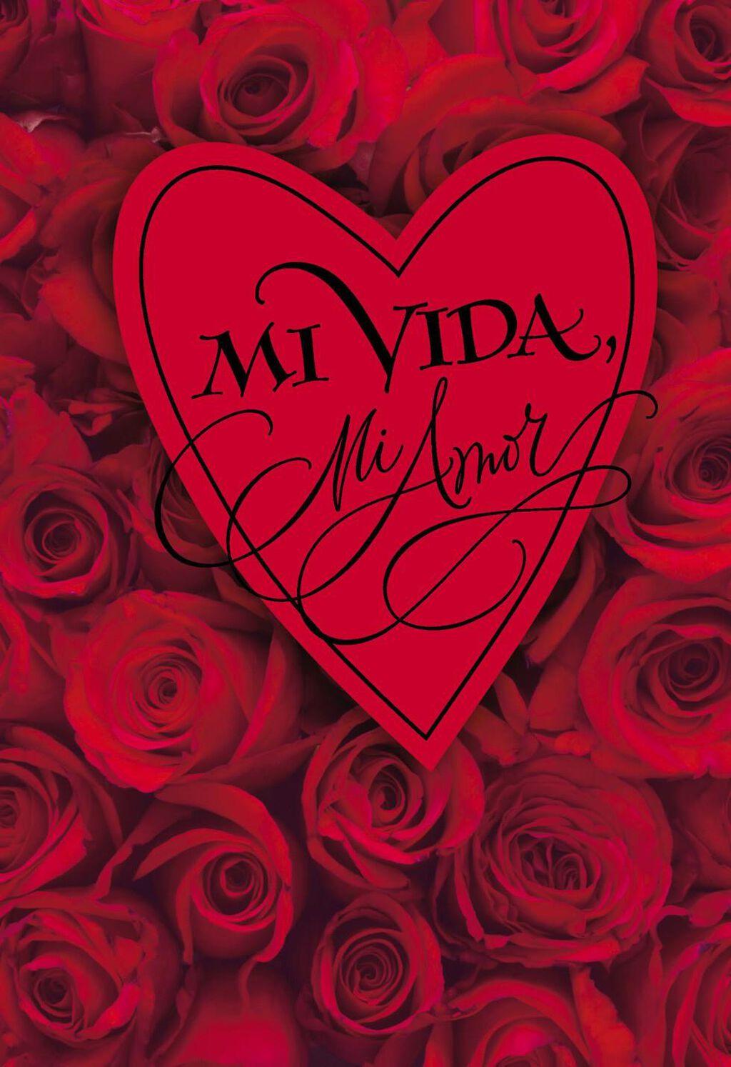 My Life My Love Spanish Valentines Day Card Greeting Cards Hallmark