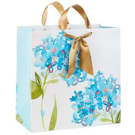 "Watercolor Lilac Blooms X-Deep Gift Bag, 15"", , large"