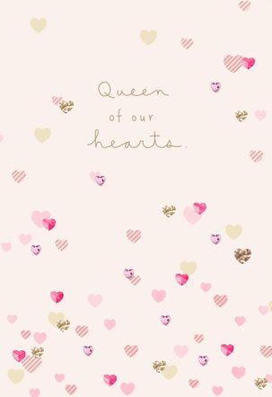 Queen of Hearts Mother's Day Card