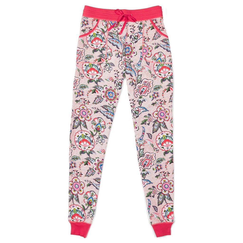 Vera Bradley Pajama Pants In Stitched Flowers Sleep Hallmark