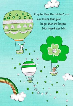 Happy Wish St. Patrick's Day Card