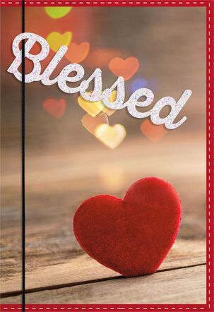 Blessed Valentine's Day Card