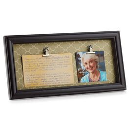 Heirloom Recipe and Photo Frame, , large