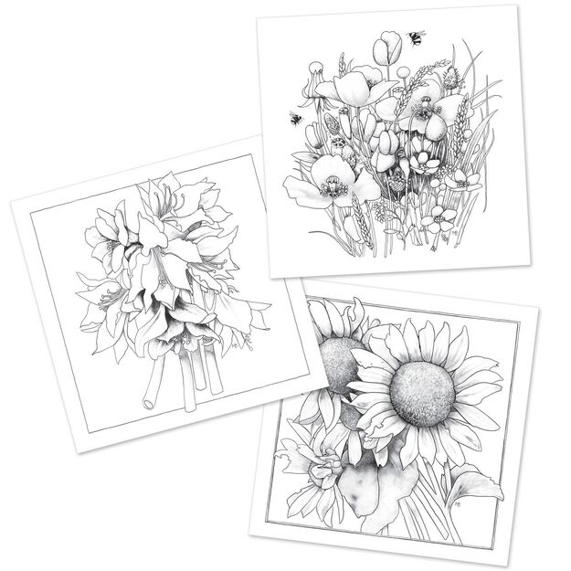 the art of naturea coloring book featuring the art of marjolein bastin - Nature Coloring Book