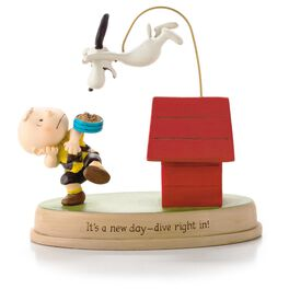 Peanuts® New Day for Charlie Brown and Snoopy Figurine, , large