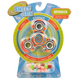 Sweet Spin Fidget Spinner With Radz Candy, Assorted Colors, , large