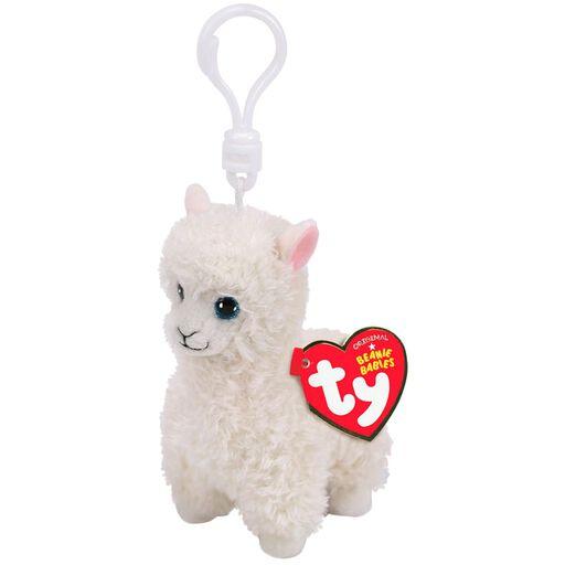 04e99b9b70d Ty Beanie Babies Lily Llama Stuffed Animal Clip