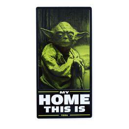 Yoda™ Tin Sign, , large