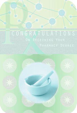 Pharmacy School Graduation Card