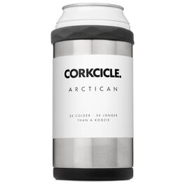 Corkcicle® Brushed Stainless Steel Arctican, , large