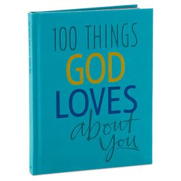 100 Things God Loves About You Book, , large