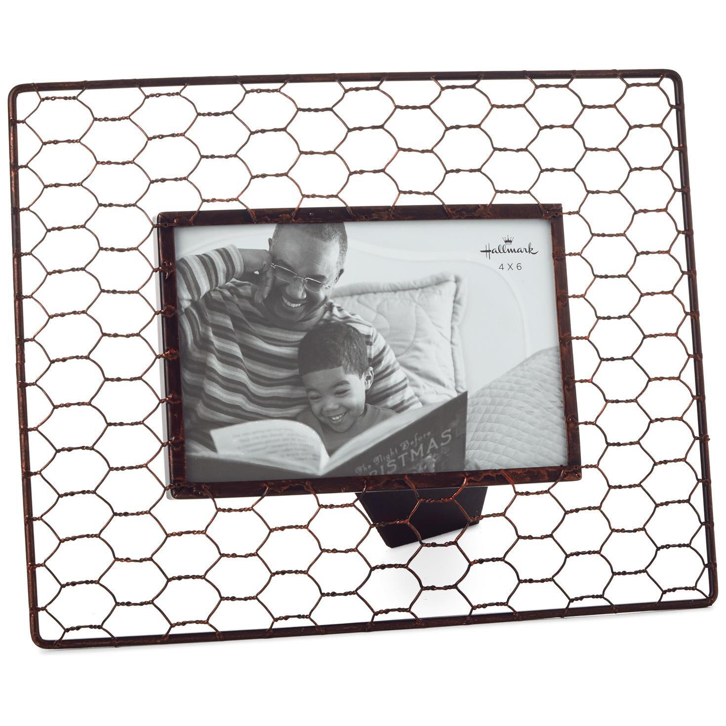Chicken Wire Picture Frame, 4x6 - Picture Frames - Hallmark