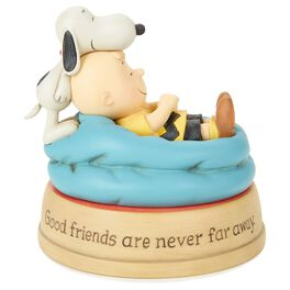 Peanuts® Good Friends Charlie Brown and Snoopy Figurine, , large