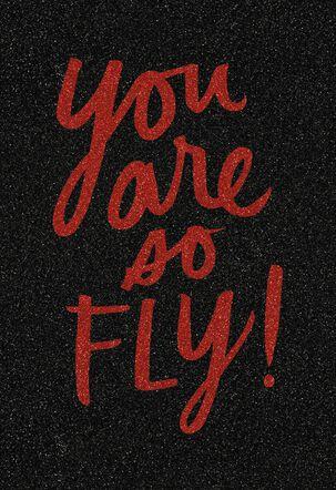 Jill Scott You Are So Fly Friendship Card