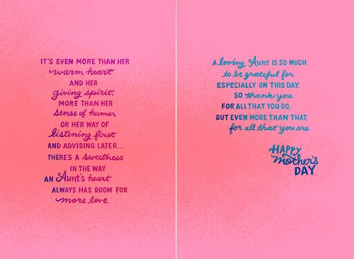 You Are a Blessing Mother's Day Card for an Aunt,