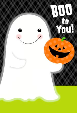 You've Been Booed Ghost Halloween Cards, Pack of 6