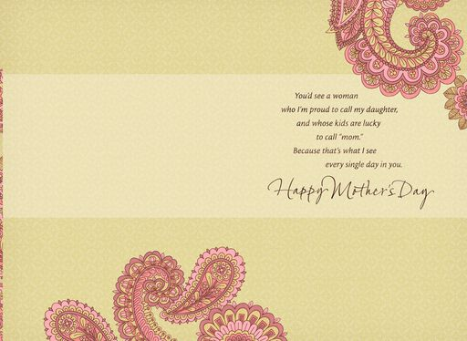 Proud of You, Mother's Day Card for Daughter,
