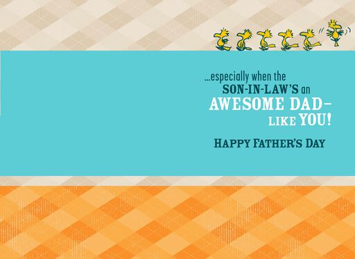 Peanuts® Snoopy Father's Day Card for Son-in-Law,