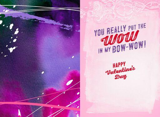 Atomic Dog Lover Musical Valentine's Day Card,