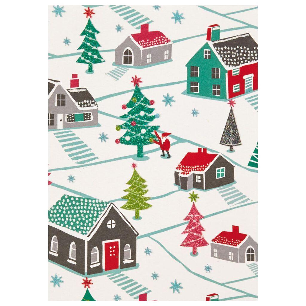 Ho, Ho, Ho Santa Comes to Town Christmas Cards, Box of 12 - Boxed ...