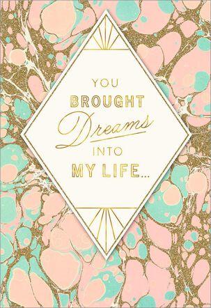 Diamond Dreams Love Card
