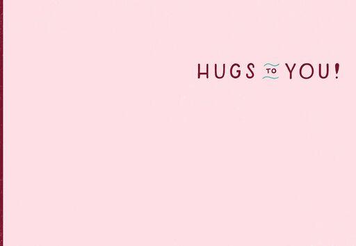 Wine Hugs Just Because Card,