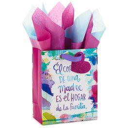 """El Corazón de una Madre Medium Gift Bag With Tissue Paper, 9.5"""", , large"""