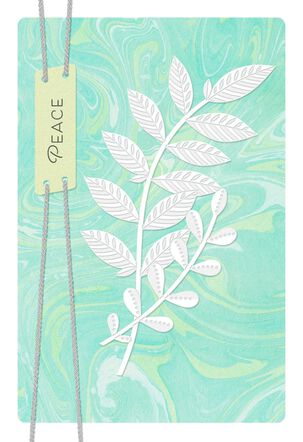 Peace and Healing, Little by Little Sympathy Card