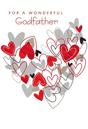 Everything You Are Valentine's Day Card for Godfather